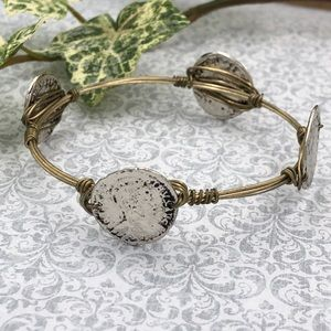 🌼3/$30🌼 Coin Wire Wrapped Bangle Bracelet